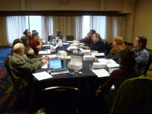 CSAS2016 board meeting